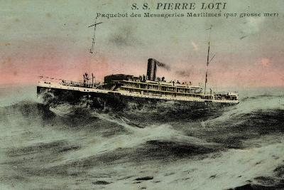 Messageries Maritimes, MM, S.S. Pierre Loti, Dampfer