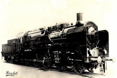 Eisenbahn, Deutschland, Dampflok, 2C3,20445, Henschel