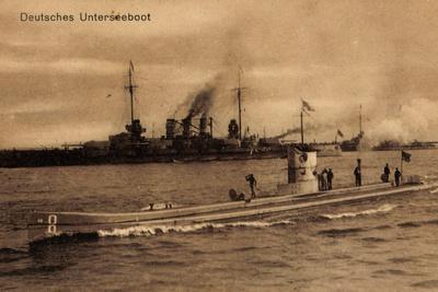 Deutsche Kriegsschiffe, Deutsches U Boot, Matrosen