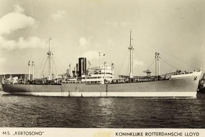 Rotterdamsche Lloyd, KRL, Dampfer M.S. Kertosono