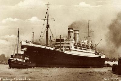 Hapag, Dampfschiff New York, Schlepper Brunshausen