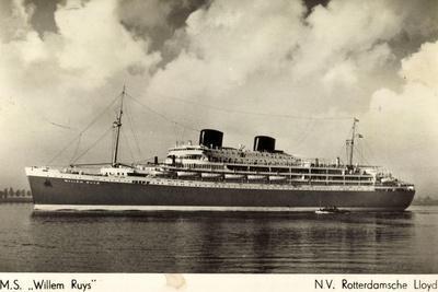 Rotterdamsche Lloyd, Krl, Dampfer M.S. Willem Ruys