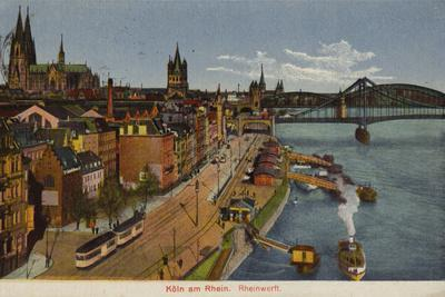 Postcard Depicting a General View of Cologne