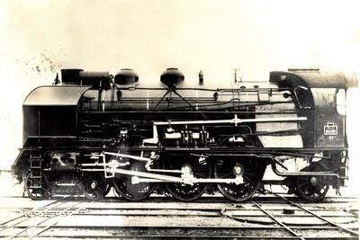 Eisenbahn, Frankreich, Dampflok, 231 G, No 87