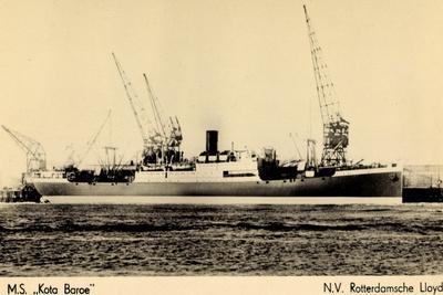 Rotterdamsche Lloyd, Krl, M.S. Kota Baroe, Dampfer