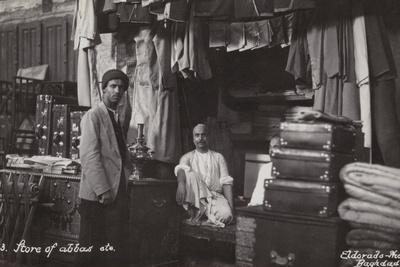 Store of Abbas, Baghdad, Iraq