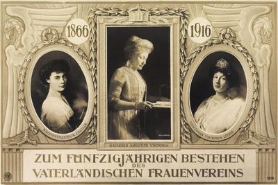 50 Jahre Frauenverein, Auguste Victoria, Cecilie
