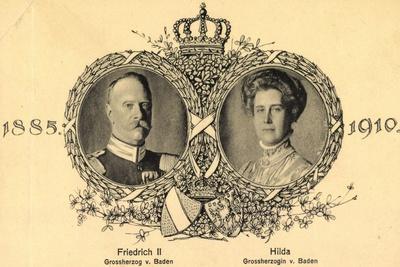 Passepartout Friedrich II Von Baden, Hilda, 1910