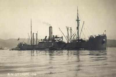 Foto Italienisches Kriegsschiff, R.N. Sterope, 1934