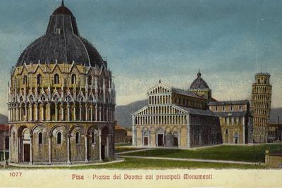 Postcard of Pisa