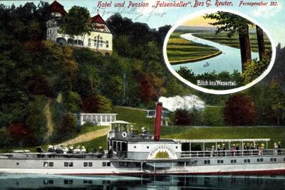 Hameln, Hotel Felsenkeller, Gedicht, Ds Braunschweig
