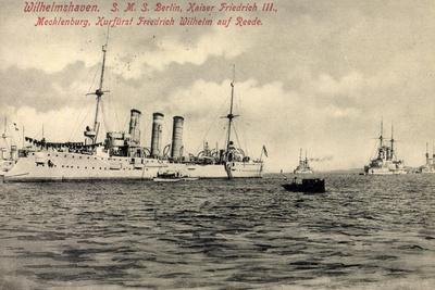 Kriegsschiff Deutschland Sms Berlin, Kaiser Friedr