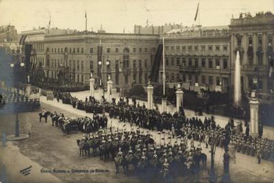Berlin, König Alfons V. Spanien in Der Hauptstadt