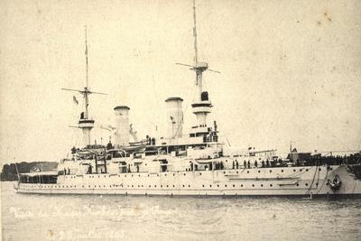 Bateau De Guerre, Karl Der Große, 28 Juillet 1915