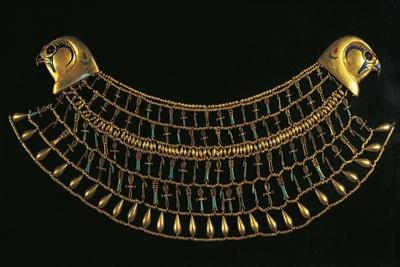 Egypt, Cairo, Necklace That Belonged to Princess Khnumit, Twelfth Dynasty