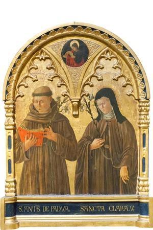 Sant'Antonio Di Padova E Santa Chiara