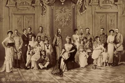 Das Deutsche Kaiserhaus, Gruppenfoto, Hohenzollern