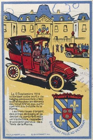 First World War, Motto of Gagny, Exierunt Mille AD Victoriam