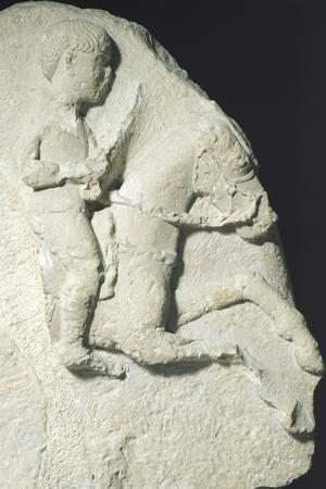 Relief Depicting Knight, from Osuna