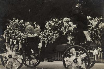 Belgische Prinzen, Kinder, Beschmückte Kutsche