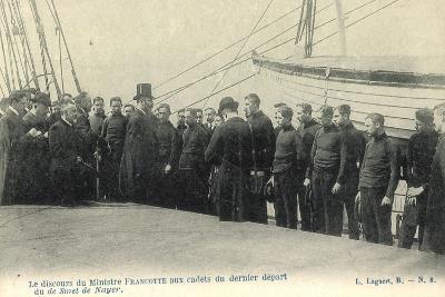 Smet De Nayer, Minister Francotte, Soldaten