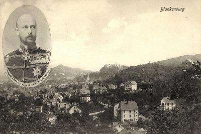 Blankenburg, Gesamtansicht, Johann Albrecht, Regent