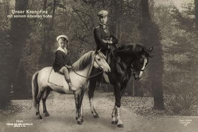 Kronprinz Wilhelm, Ältester Sohn, Liersch 1945, Pferd