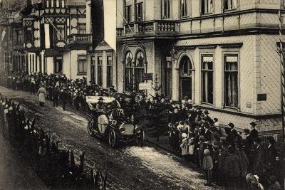 Brotterode, Herzog V. Coburg Gotha, Versammlung, Auto