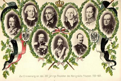 Patriotik, 200 Jahre, Königreichs Preussen, Portaits