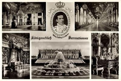 Bayern, König Ludwig, Königsschloss Herrenchiemsee