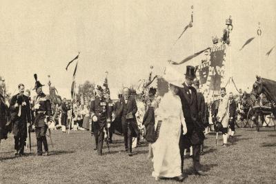 Gravenhage Südholland, Landbaufest 1913, Königin
