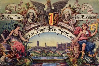 Mannheim, 300 Jahr Fest 1907, Kurfürst Friedrich