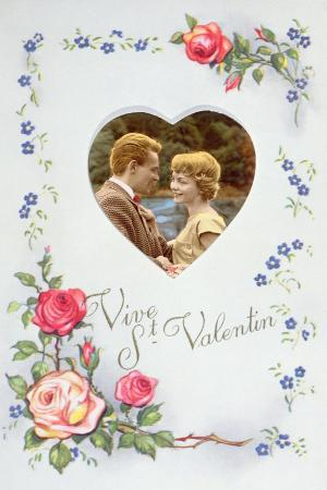 Valentine Card, C.1960
