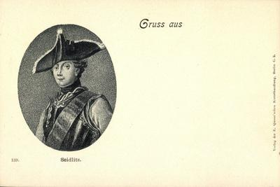 Künstler General Friedrich Wilhelm Von Seydlitz