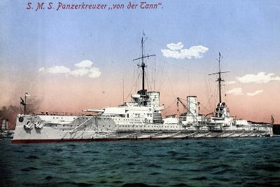 Panzerkreuzer Sms Von Der Tann, Kriegsschiff