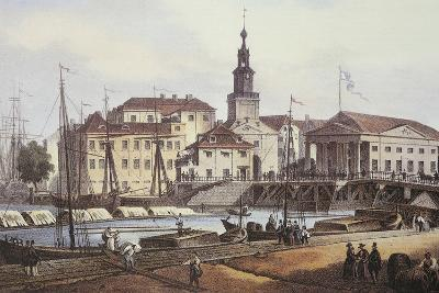 Konigsberg City and Port in 1850
