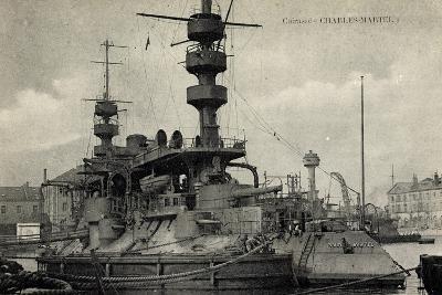 Französisches Kriegsschiff Charles Martel, Cuirassé