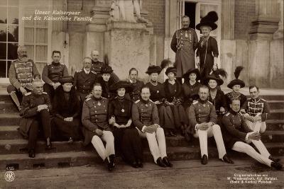 Kaiserpaar, Kaiserliche Familie, Npg 4725, Treppe