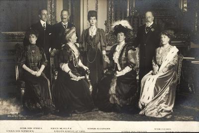 Kaiserpaar, Königin Von Spanien, Portugal, Eduard