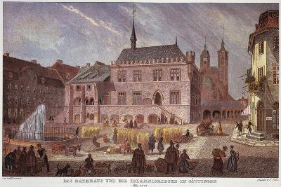 Germany, Square in Goettingen