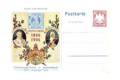 Ganzsachen Maximilian I, Joseph, Prinzregent Luitpold