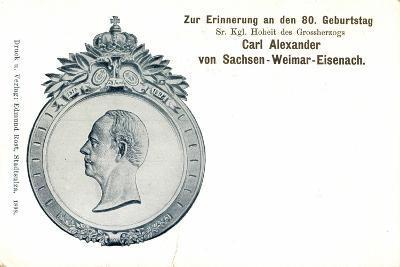 Carl Alexander Von Sachsen Weimar Eisenach