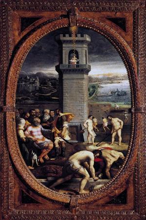 Danae, 1572