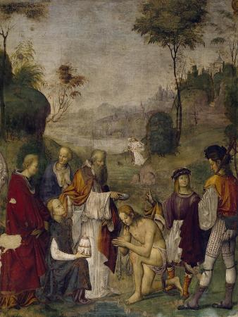 Valerian's Baptism, 1506