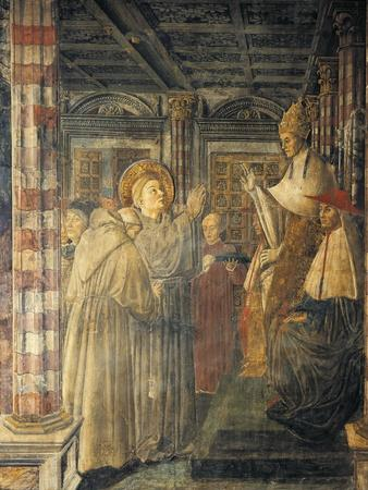 St. Louis of Toulouse Ordained Bishop by Pope Boniface VIII, 1461-1466