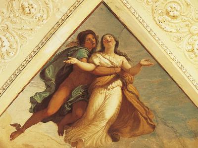 Bezel with Mercury, Fresco