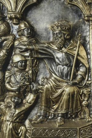 Slaughter of Innocents, Panel on Frontal of Altar of St James