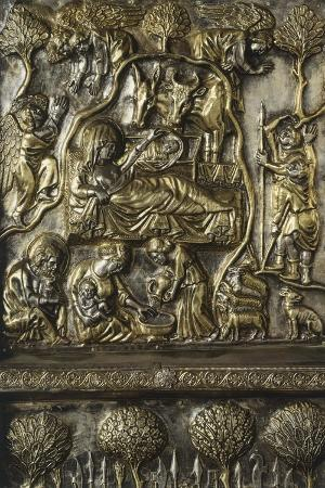 Nativity, Panel on Frontal of Altar of St James