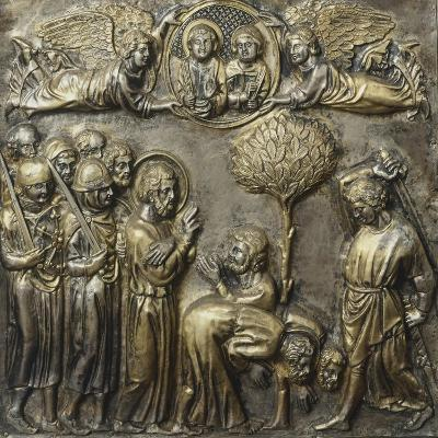 Martyrdom of St James, Panel on Frontal of Altar of St James