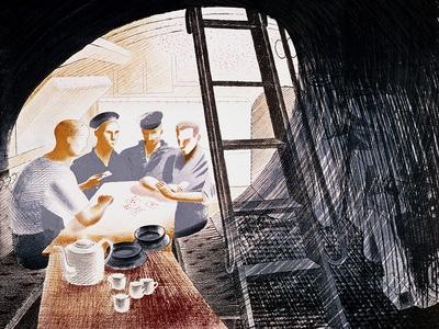 Sailors Playing Cards